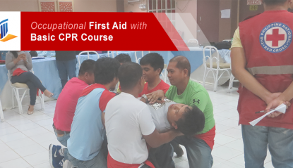 Occupational First Aid with Basic CPR Course